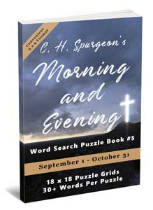C.H. Spurgeon's Morning and Evening Word Search Puzzle Book #5 (6×9): September 1st to October 31st